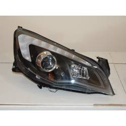 Set Of Headlamps Day Light Opel Astra J DRL Black