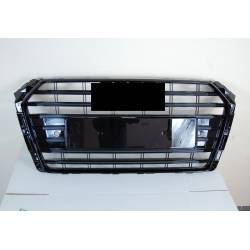 Front Grill Audi A4 2016+ Look S4 Black