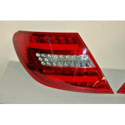 Pilotos Traseros Cardna Mercedes W204 07-11 Lightbar Int. Led