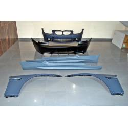 BODY KIT BMW E92 06-09 LOOK M3 1 EXHAUST FENDERS