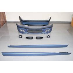 KIT DE CARROCERIA BMW E46 4P 02-05 LOOK M-TECH ABS