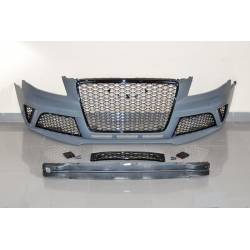 Front Bumper Audi A4 From 2009 Onwards, B8 Look RS4