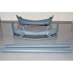 Kit Estetici Mercedes W204 4P 2011-2013 Look AMG 1 Scarico