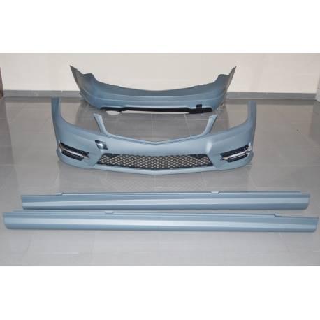 Kit De Carrocería Mercedes W204 4P 2011-2013 Look AMG 1 salida