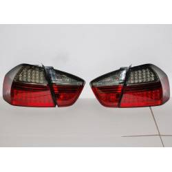 Pilotos Traseros BMW E90 05 4P Led Red Smoked