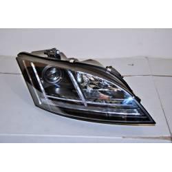 Faros Delanteros Luz De Dia Audi TT 06-11 Black