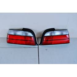 Set Of Rear Tail Lights BMW E36 1992-1998 4-Door Lexus Chromed
