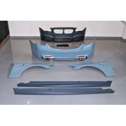 Body Kit BMW F10 2010-2012 Look M4 Fenders Exhaust