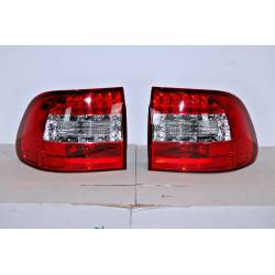 Set Of Rear Tail Lights Porsche Cayenne 2003-2007 Led Red