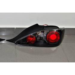 Set Of Rear Tail Lights Peugeot 406 Coupe, Lexus Black