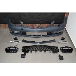 Front Bumper Mercedes W204 Coupe / 4 Doors 11-13 AMG look C63 No Sensor