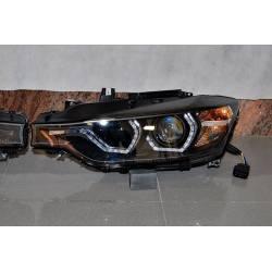 Faros Delanteros Luz De Dia BMW F30 / F31 Xenon DRL Black