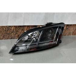 Set Of Headlamps Day Light AUDI TT 06-09 Xenon DRL Black
