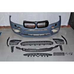 Front Bumper BMW F16 2013-2018 Look X6M