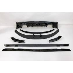 Kit De Carrocería BMW F22 M Performance Brillante Negro