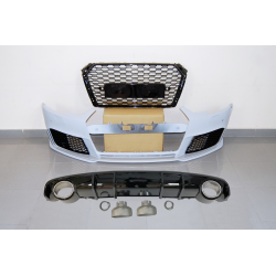 Kit De Carrocería Audi A4 B9 2016 Look RS4 ABS