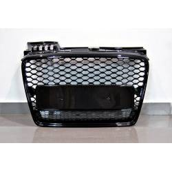Front Grill Audi A4 2005-2008 B7 Black Look RS4