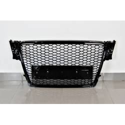 Front Grill Audi A4 Look RS4  B8 2009-2012 Black