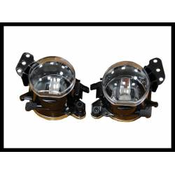 Set Of Fog Lamps For Bumper BMW E60 M-Tech / E90 / E92