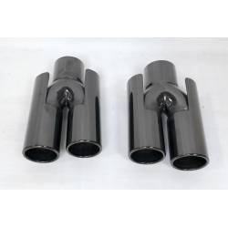 Exhaust Tail Bmw E60 / E90 / E92 / E93 / F10 / F30 Black