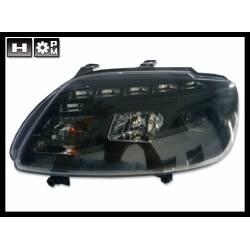 Set Of Headlamps Day Light Touran 03 / Caddy 05 Black