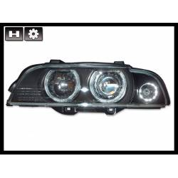 Set Of Headlamps BMW E39 1995-2003 Black Xenon