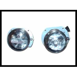 Set Of Fog Lamps For Bumper Mercedes W204 07-10 / W211 07-09 / W209
