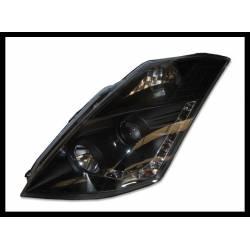 Set Of Headlamps Nissan 350Z 2003-2005 Black