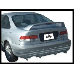 Rear Spoiler Honda Civic 1992-1995, 2 Or 4-Door