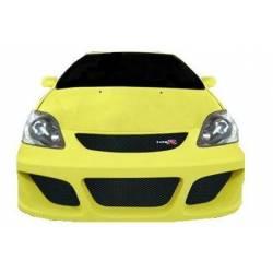 Front Bumper Honda Civic 2001-2005