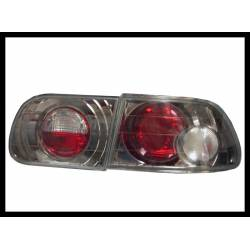 Set Of Rear Tail Lights Honda Civic 1992-1995 3-Door Lexus Golden