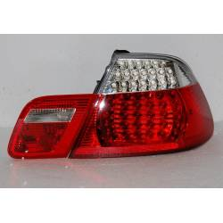 Pilotos Trasero BMW E46 '98-'05 CC, Led,Red, Chromed