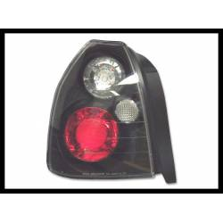 Set Of Rear Tail Lights Honda Civic 1996 4-Door Lexus Black