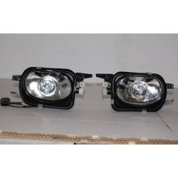 Set Of Fog Lamps For Bumper Mercedes W211 2002-2006 / W203 AMG