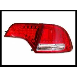Set Of Rear Tail Lights Honda Civic 2006 4-Door Hybrid Lexus Chromed/Red