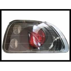 Set Of Rear Tail Lights Honda Del Sol 1993-1996 Lexus Black