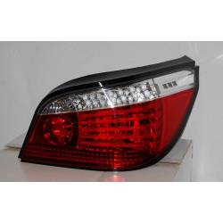 Set Of Rear Tail Lights BMW E60 Led Red