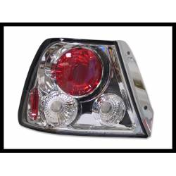 Set Of Rear Tail Lights Hyundai Accent 2000 Lexus Chromed