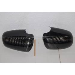Carbon Fibre Mirror Covers Audi A4 2002-2005