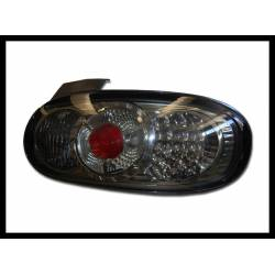 Set Of Rear Tail Lights Mazda Rx7 Lexus Chromed