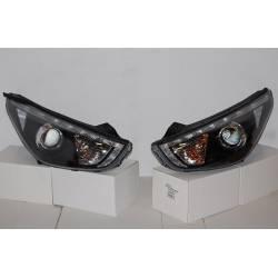 Faros Delanteros Hyundai IX35 10 Luz Dia Black
