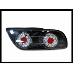 Set Of Rear Tail Lights Nissan 180, Led Black