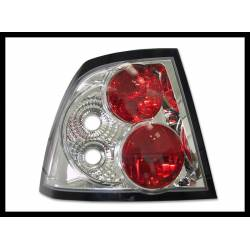 Set Of Rear Tail Lights Opel Vectra B 1996-1999 Lexus Chromed Type II