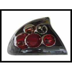 Set Of Rear Tail Lights Opel Tigra Lexus Black