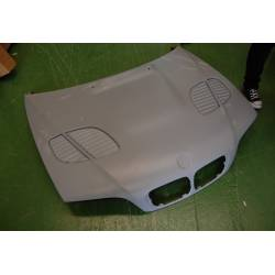 Fibreglass Bonnet BMW E46 M3 1998 GTR Type