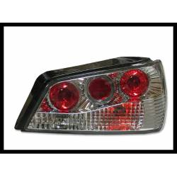 Set Of Rear Tail Lights Peugeot 306 1997-2001, Lexus Chromed