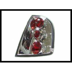Set Of Rear Tail Lights Skoda Fabia, Lexus Chromed