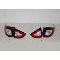 Set Of Rear Tail Lights Hyundai IX35 Led Red Flashing Led