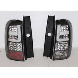 Set Of Rear Tail Lights Dacia Duster ´10 Black Led  Cardna