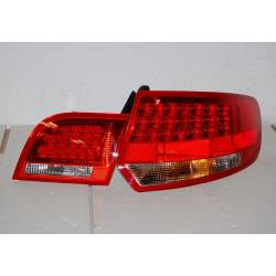 Pilotos Traseros Audi A3 Sportback '04-08 Led Red/Black